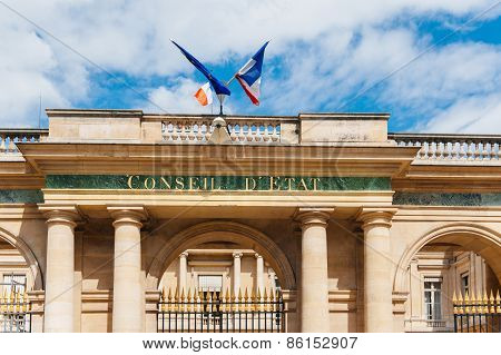 Conseil D'etat - Council Of State, Paris France