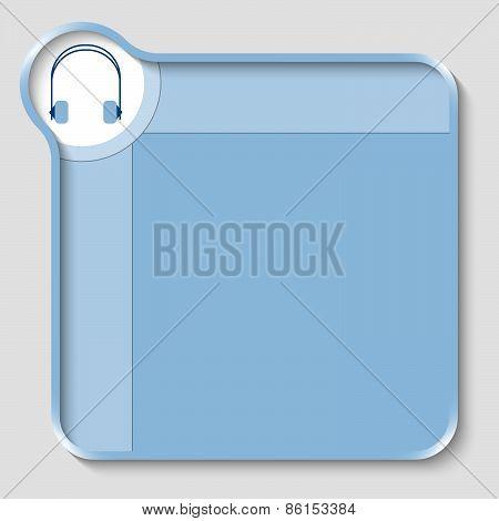 Blue Text Box