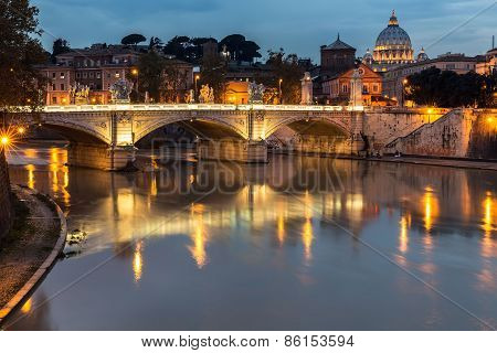 Rome at twilight