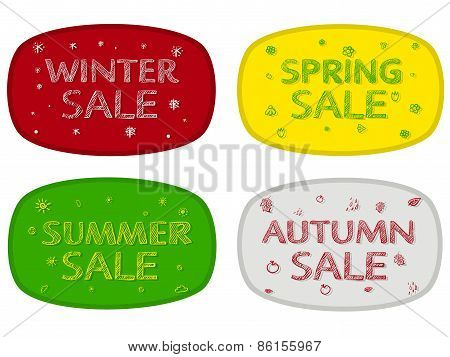 Seasonal Sale Flyers, Posters