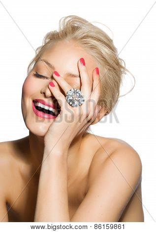 Model With Ring