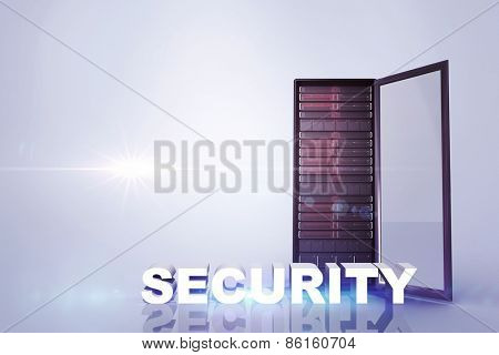 security against server tower
