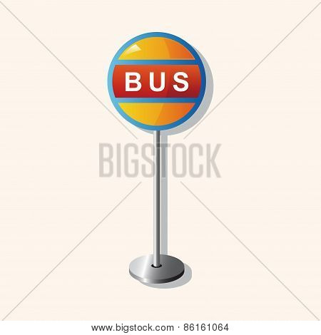 Bus Stop Theme Elements