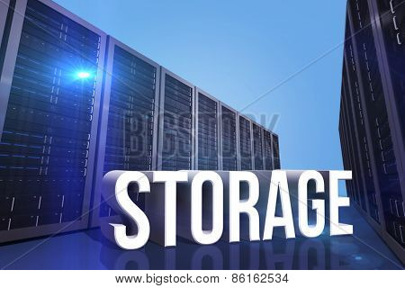 storage against server hallway