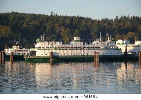 Ferry in Dock