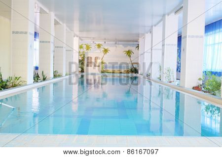 The image of hotel pool
