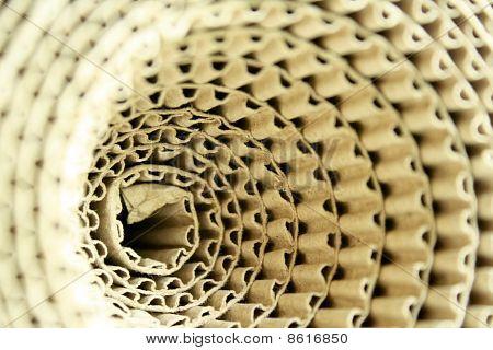 Ondulado de rolos de papel