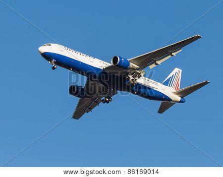 Boeing 767 Passenger Aircraft