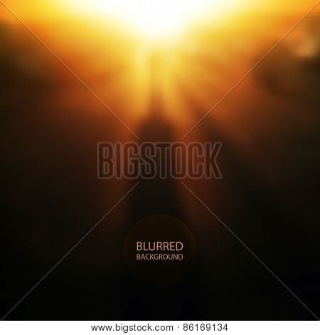 Abstract Background - Blurred Image - Shadows