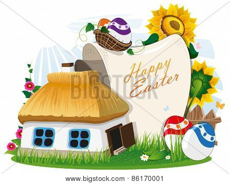 Easter Rural Background