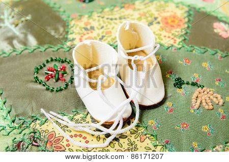 Pair Of Doll Shoes