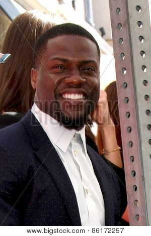 LOS ANGELES - MAR 24:  Kevin Hart at the Will Ferrell Hollywood Walk of Fame Star Ceremony at the Hollywood Boulevard on March 24, 2015 in Los Angeles, CA