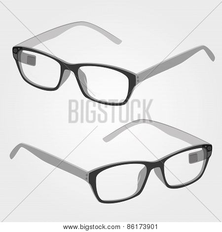 Wearable Electronics Smart Glasses With Camera And Display  Eps10