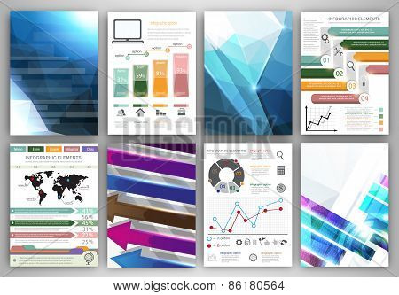 Vector Infographic And Abstract Backgrounds