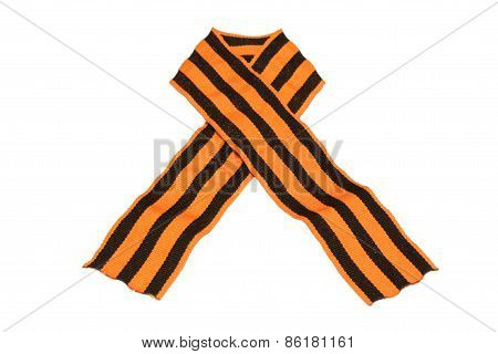 Black and gold Ribbon of St George
