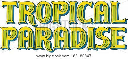 Tropical Paradise Logo