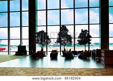 Changi Airport Lounge, Singapore