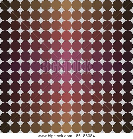 Abstract violet circles background