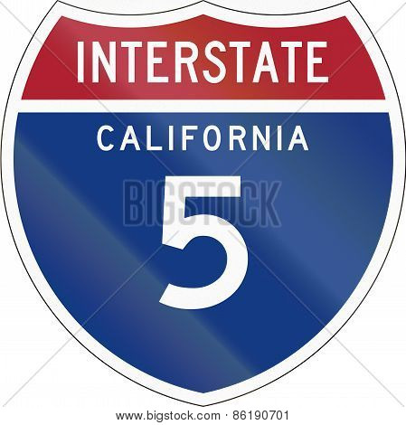 Interstate Route Shield - California