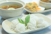 stock photo of fermentation  - Fermented Rice Flour Noodles - JPG