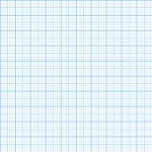 image of graph paper  - Vector graph millimeter paper seamless pattern background - JPG