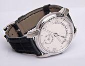 stock photo of watch  - luxury watch swiss made - JPG