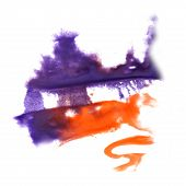 picture of insults  - abstract hand lilac - JPG