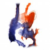 foto of insults  - abstract hand orange - JPG