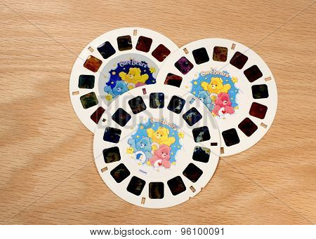 Care Bears View-master Disks