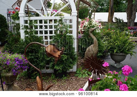 Garden Ornaments and Plants