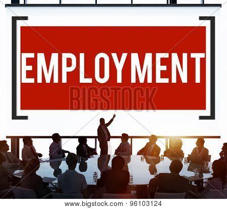 Employment Employed Career Job Hiring Concept