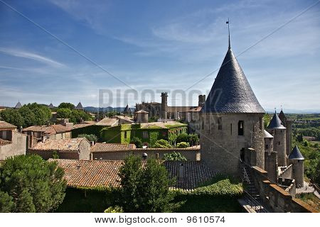 Carcassone City Detail