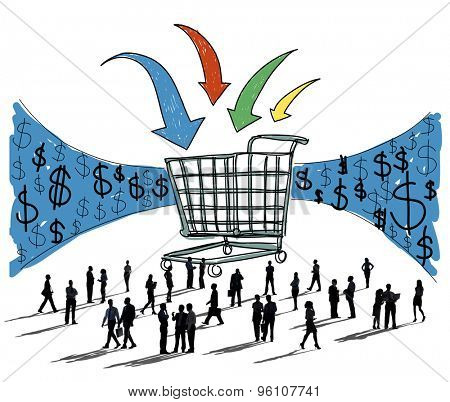 Business Technology Shopping Online Browsing Concept