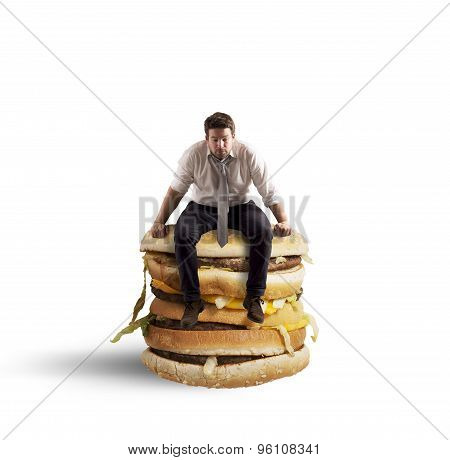 Sit on sandwich