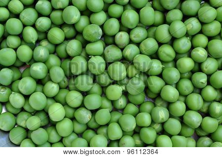 Green Peas Background Texture