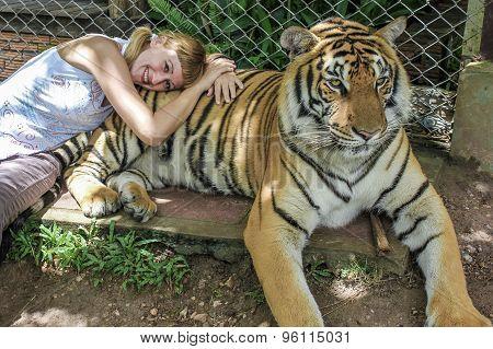 Woman tiger