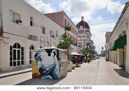 CIENFUEGOS, CUBA- MAY 3, 2014