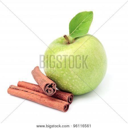 Sweet Apple With Cinnamon