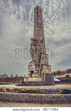 Horea, Closca And Crisan Obelisk, Alba Iulia , Romania