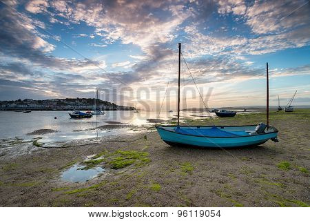 Low Tide At Instow In North Devon