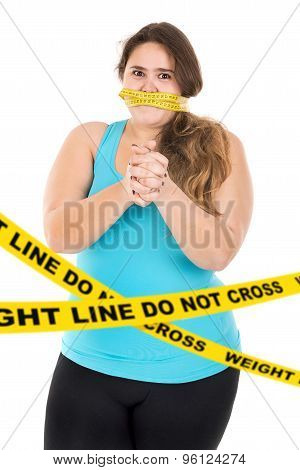 Weight Line, Do Not Cross