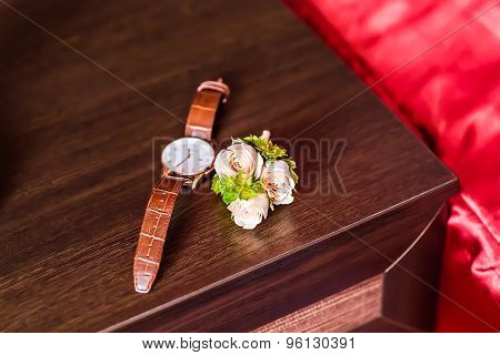 watches and boutonniere