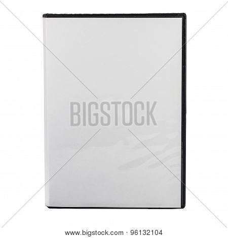 Dvd Blank Case Isolated On White Background