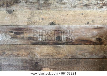 vintage looking wood panels.