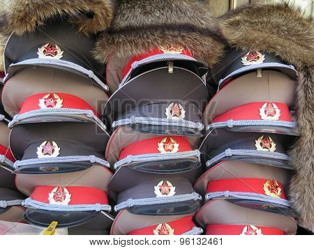 Russian Army Caps