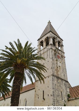 The bell tower of the Dominican convent in Trogir