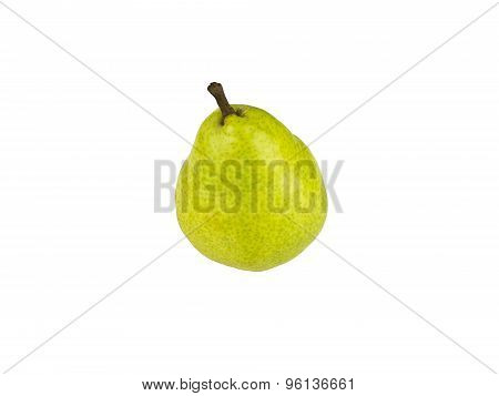 Pear Williams Over White Background