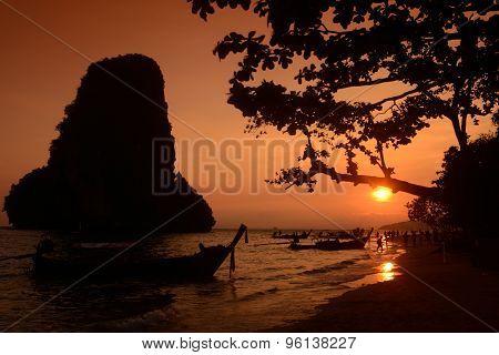 THAILAND KRABI RAILAY BEACH