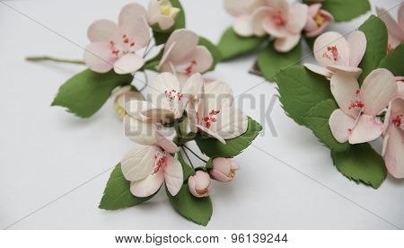 flowers from foam