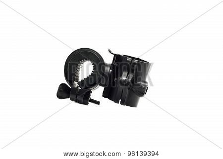 Strong Plastic Mounting Flashlight On The Tube
